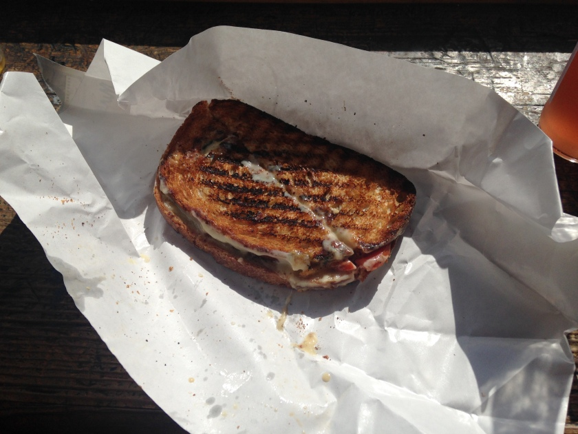 This was a beautiful grilled cheese that I stumbled upon when I was trying to get out of the crowds of Pike Place Market.